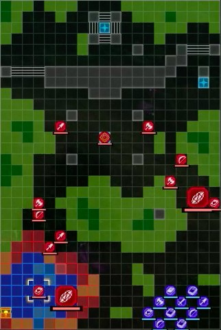 The Sealed Forest Snare Battle Map - start