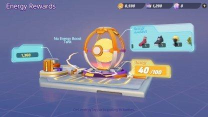 Energy Reward Gacha Simulator