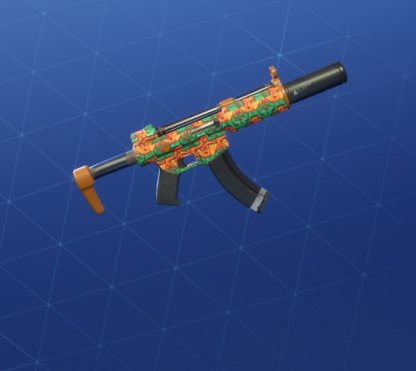 SUNPRINT Wrap - Submachine Gun
