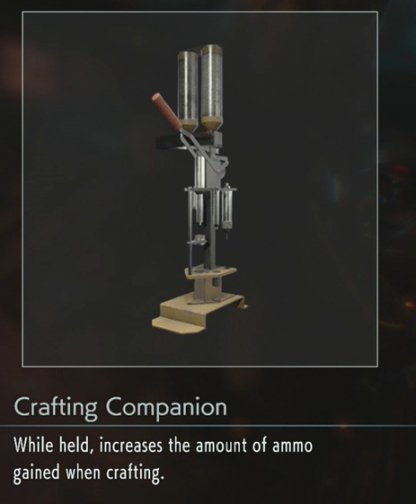 Double Ammo Crafting Output