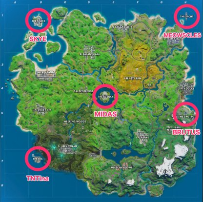 New Locations and Bosses