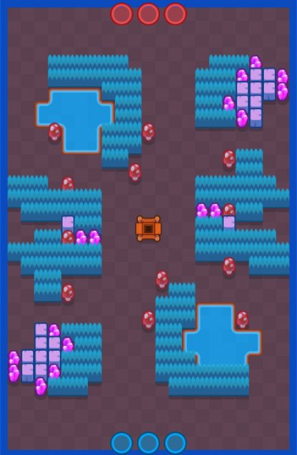 Brawl Stars, Gem Grab Game Mode Guide, Flooded Mine