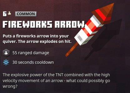 Fireworks Arrow