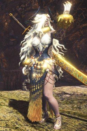 Master Rank Kulve Taroth Armor α+ Female