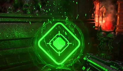 Shoot Green Icon To Quash Enemies