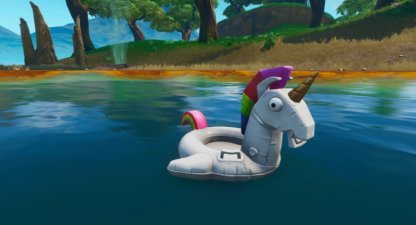 Search Unicorn Floaties at Swimming Holes Challenge