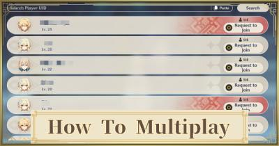 How To Multiplay
