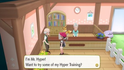 Hyper Train Pokemon Day Care