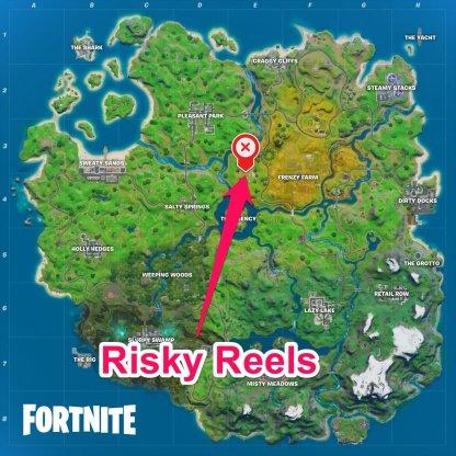 Risky Reels Location