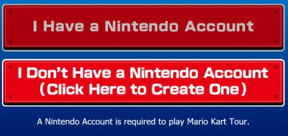 nintendo account needed