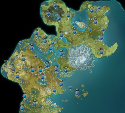 Tayvat Locations