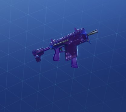 SHARD BREAK Wrap - Submachine Gun