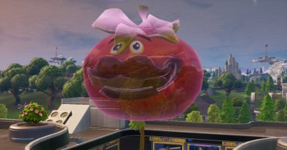 Dance Inside A Holographic Tomato Head Location (Week 4)
