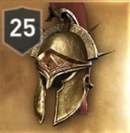 Spartan War Hero Helmet Stats