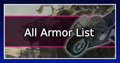 All Armor List