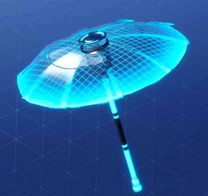 Fortnite Umbrella HOLOGRAM