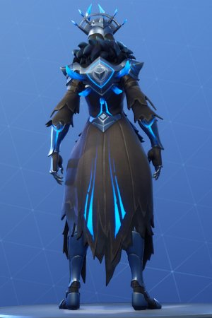 THE ICE QUEEN Back