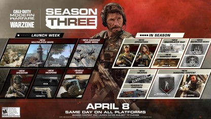 COD MW Warzone Season 3