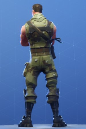 HIGHRISE ASSAULT TROOPER Back