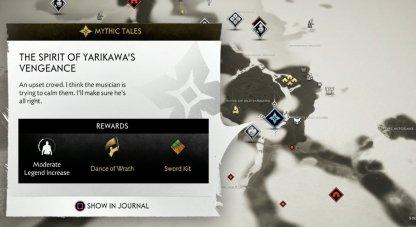The Spirit Of Yarikawa's Vengeance Map Location
