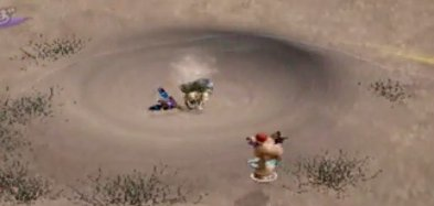 Quicksand Acts As Teleportation Spots