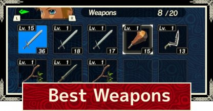 Best Weapons