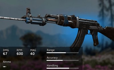 Far Cry New Dawn Makeshift AK-47