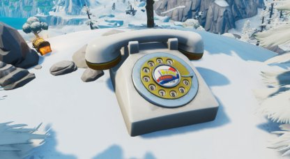 Oversized Phone Locations - West of Fatal Fields Close Up