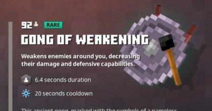 Gong of Weakening