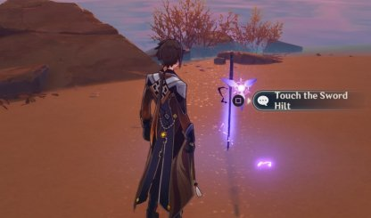 Interact With Sword Hilts While You Have An Electrogranum