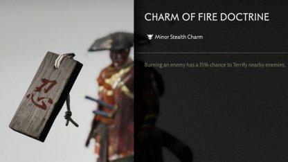 Receive Charm Of Fire Doctrine