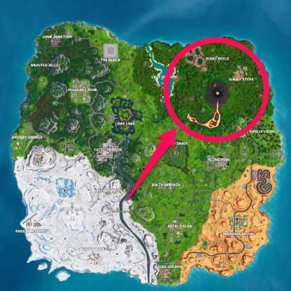 Recommended Location - Jungle MAP