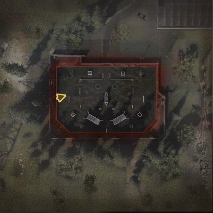 Speedball Map Layout