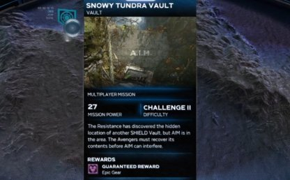 Snowy Tundra Vault - Overview