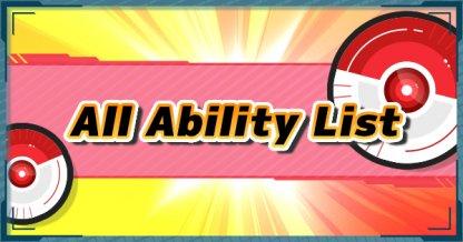 all ability list