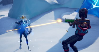 Fortnite Ice Storm Challenge Deal Damage with ARs or Pistols
