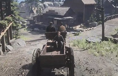 Red Dead Redemption 2 Epilogue 1 The Wheel