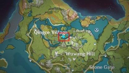 Qingce Tree Location 3