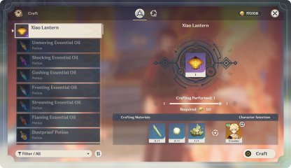 Xiao Lantern Craft