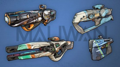 MALIWAN - Weapon Brand Features