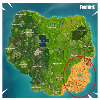 Desert Biome ATK Locations