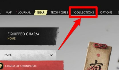 View Collectibles Under Collections Tab