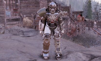 Fallout 76, Power Armor - List & Stats T-51b
