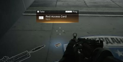 need red keycard to Enter D2 Dam Bunker