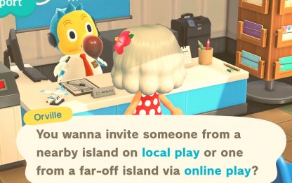 Invite Friends Or Visit Other Islands