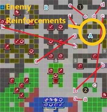 The Underground Chamber - Reinforcements map