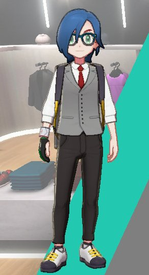Vest And Tie Ensemble (Gray)