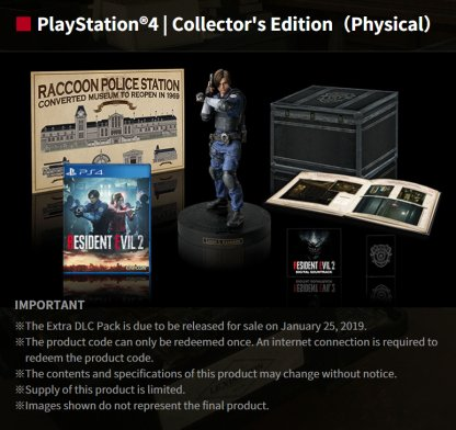 resident evil 2 limited lenticular edition