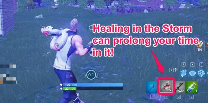 You Can Out-Heal The Storm