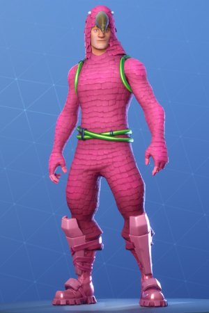 Skin Outfit KING FLAMINGO